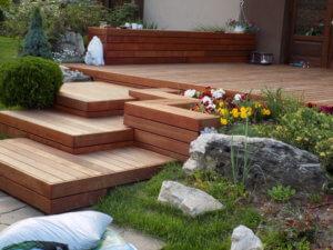 Treppen außen System Softline Terrassendielen
